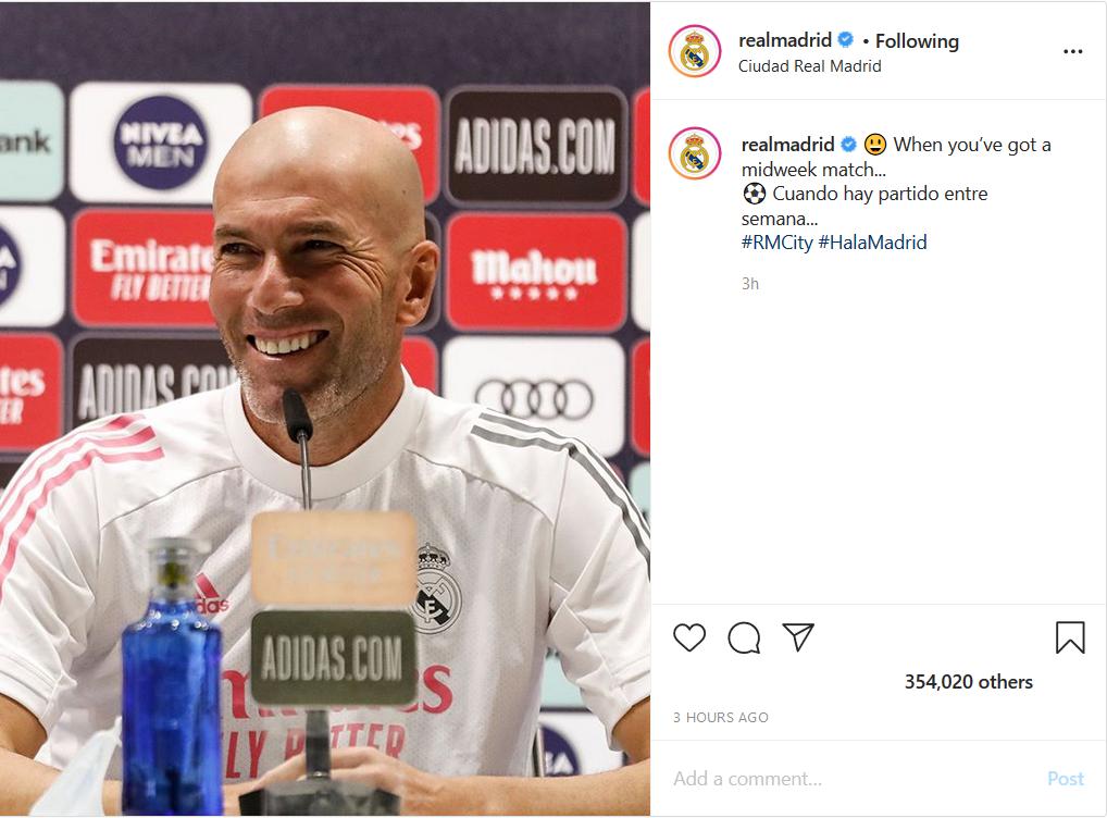 شماره پیراهن ستاره سابق پرسپولیس روی توپ تنیسی در دستانش/ لبخند ماندگار زیدان در صفحه رئال مادرید