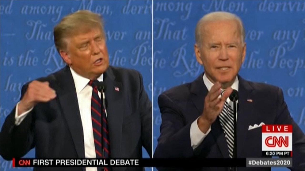 اولین مناظره انتخابات ریاست جمهوری آمریکا