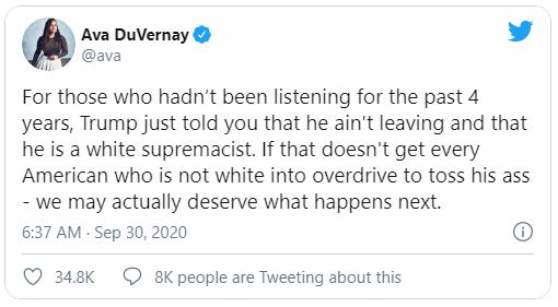 انتقاد هالیوود ازترامپ برای عدم محکومیت برترپنداری سفیدپوستان