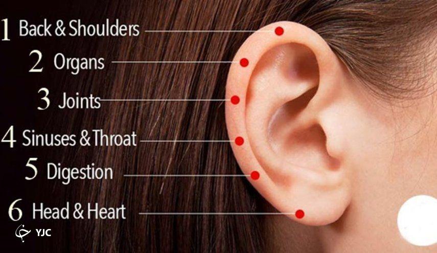 ۶ نقطه حیاتی ماساژ که از آن میتوانید برای رفع بیماری خود استفاده کنید+ تصویر