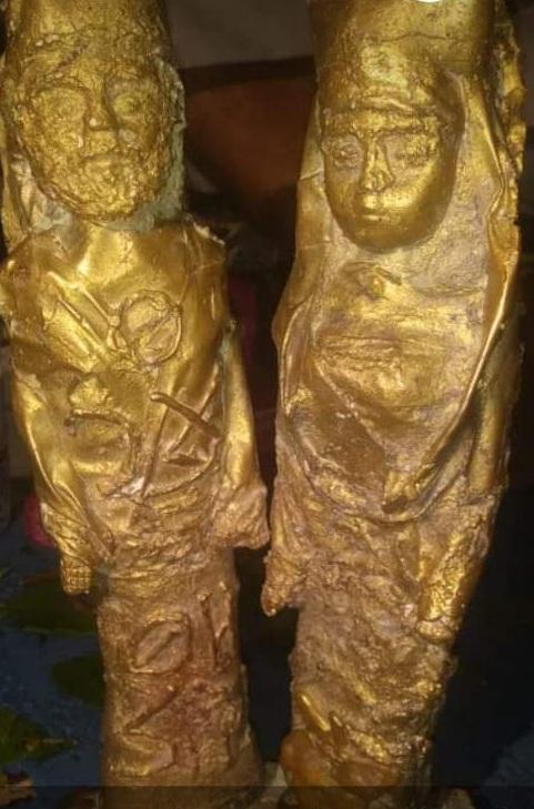 کشف گنج گرانقدری که از طلای ناب ساخته شده است