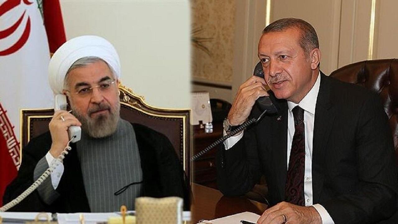 تاکید روحانی و اردوغان بر حل مسئله قره باغ از طریق مذاکره