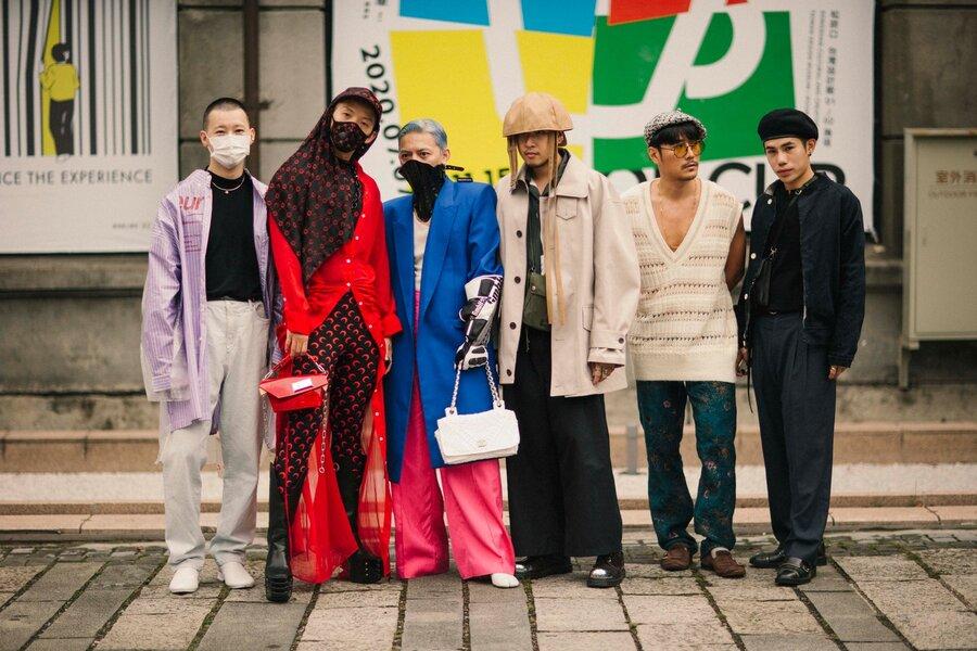 لباسهای عجیب و غریب مردان در هفته مد تایوان ۲۰۲۱