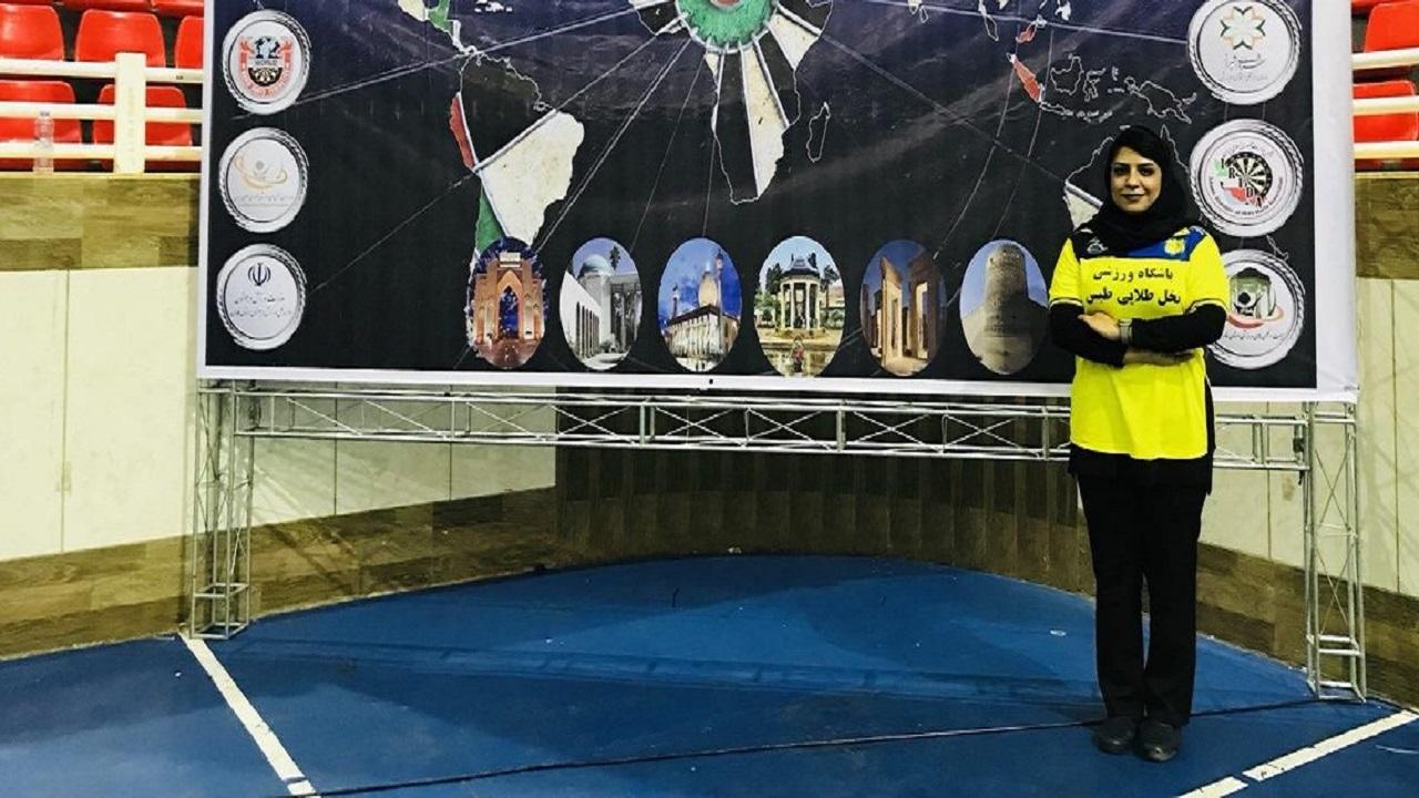 باشگاه خبرنگاران -بانوی ملی پوش دارت: حضور در رقابتهای مجازی قهرمانی جهان تجربه خیلی خوبی بود