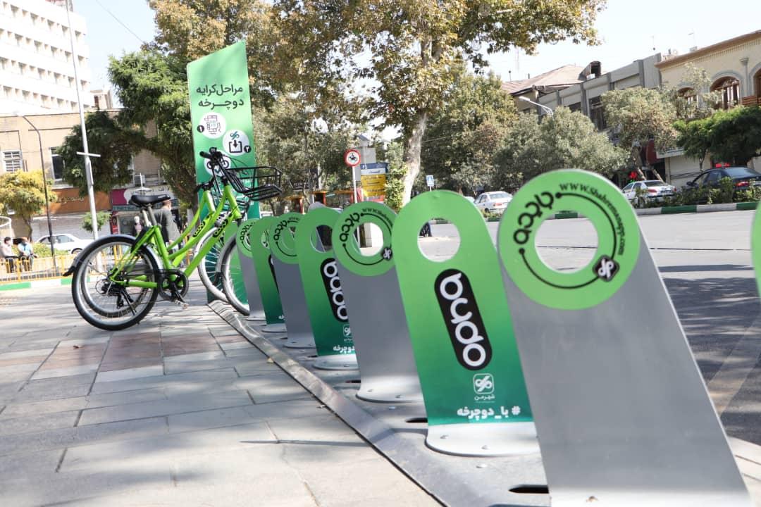 حمل و نقل پاک با ورود دوچرخه های نارنجی //منتشر نشود