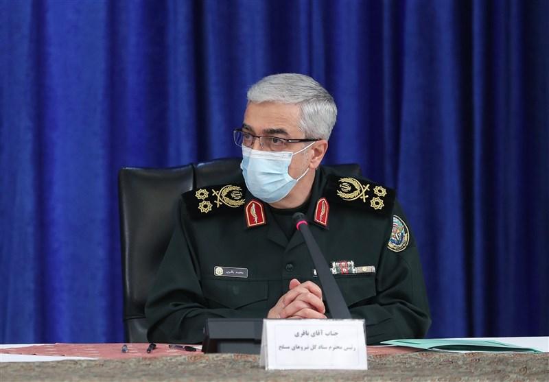 پیام تبریک سرلشکر باقری به روسای نیروهای مسلح کشورهای اسلامی