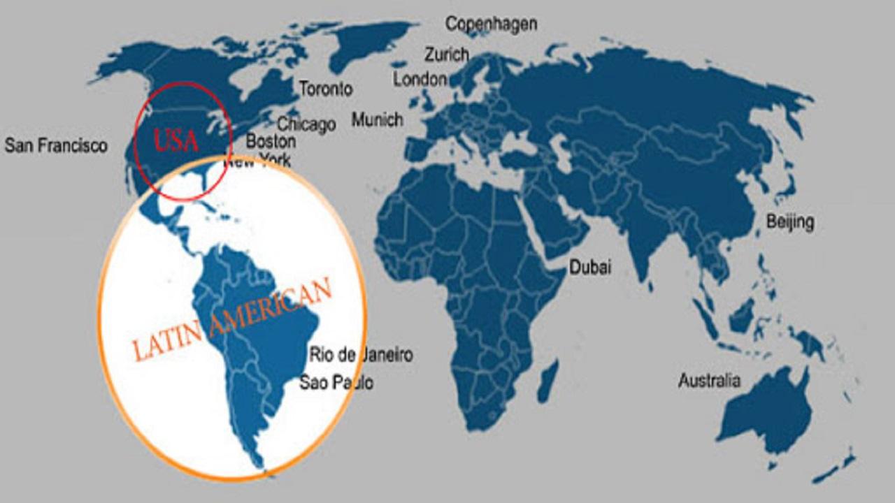 تور آمریکای لاتین ظریف//