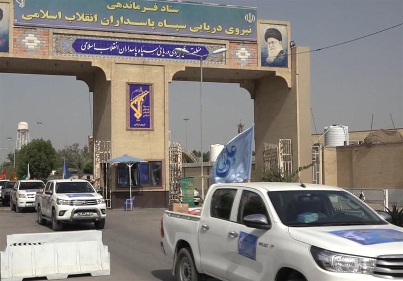 توزیع ۵ هزار بسته معیشتی نیروی دریایی سپاه