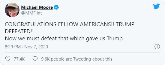 واکنش هالیوود به شکست ترامپ/ خداحافظ احمق
