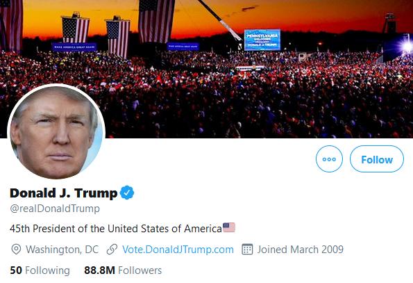 استقبال توئیتر از تغییر در کاخ سفید