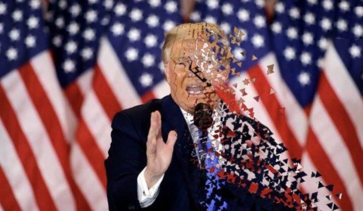 بای بای ترامپ به سبک کاربران آمریکایی!