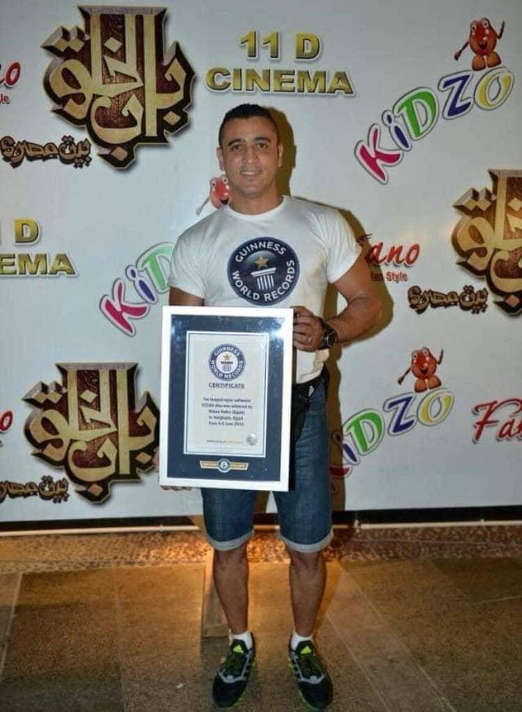 کاپیتان مصری رکورد غواصی گینس را شکست