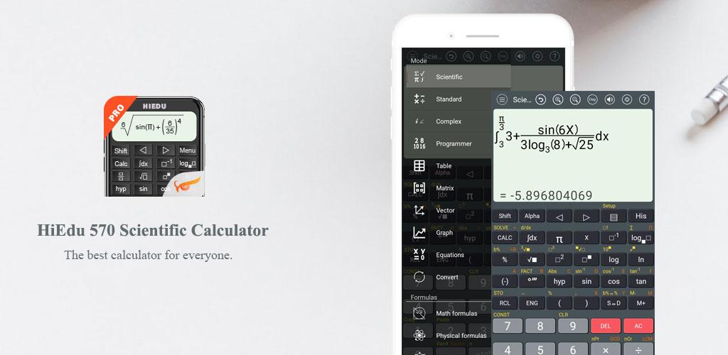 دانلود HiEdu Scientific Calculator