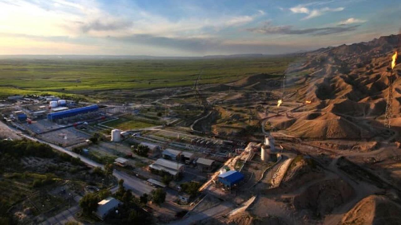 چاه شماره ۱۳ میدان نرگسی به تولید رسید