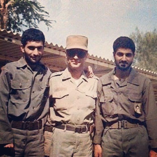 پست زینب سلیمانی به مناسبت شهادت شهید حسن تهرانی مقدم