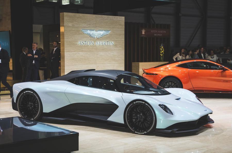 خودروی Aston Martin Valhalla؛ نمایشی از افسانههای باستانی