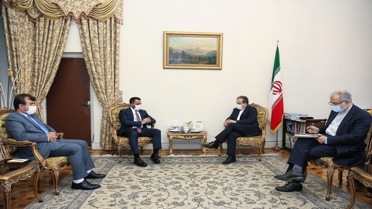 دیدار معاون وزیر امور خارجه افغانستان با عراقچی