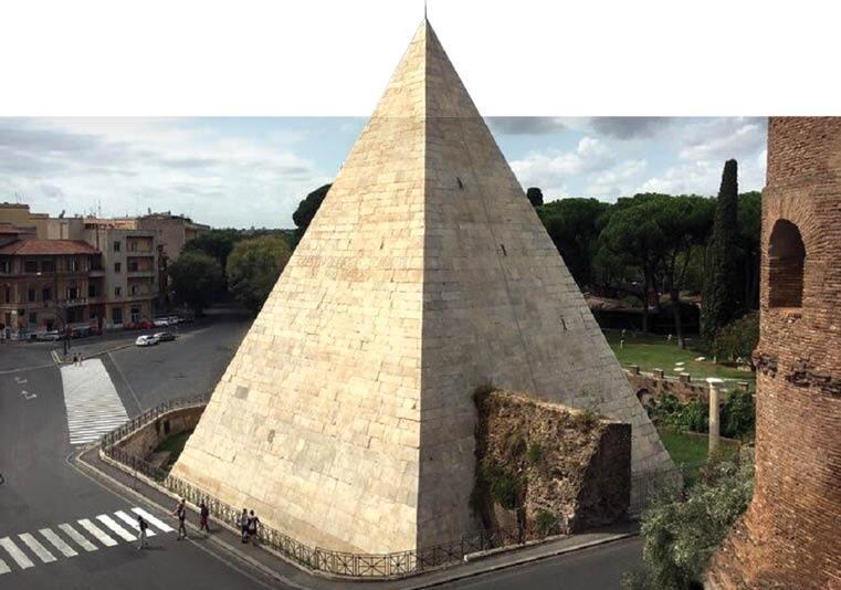 هرمهایی عجیبتر از اهرام مصر/ از بزرگترین هرم باستانی دنیا در مکزیک تا هتل هرمی در وسط شهر رم
