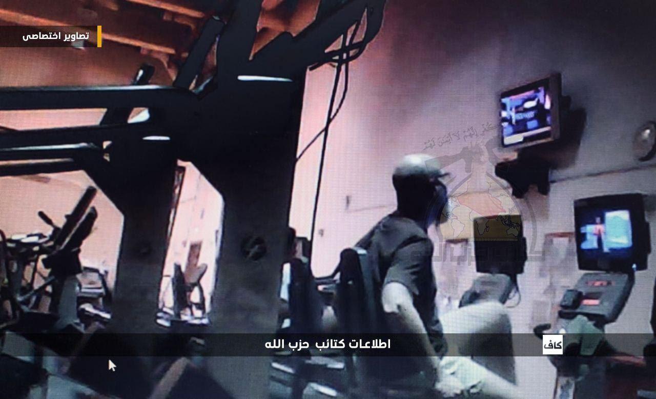 کتائب حزب الله عراق تصویری از داخل سفارت آمریکا در بغداد منتشر کرد