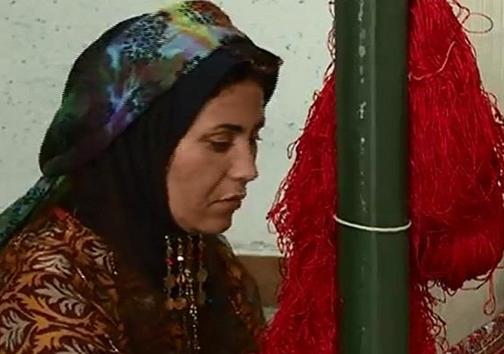 عشرت بهمن نژاد بانوی کار آفرین قشقایی