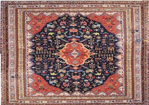 رنگ های متداول در فرش دستباف قشقایی