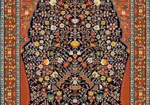 فرش دستبافت ایرانی آمیزهای از هنر ایرانیان
