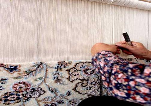 کارگاه فرش دستباف ایرانی