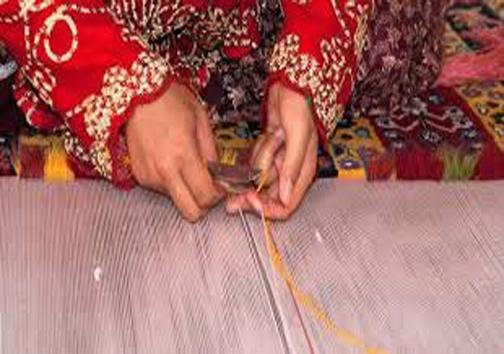 مهارت سنتی در بافت فرش قشقایی