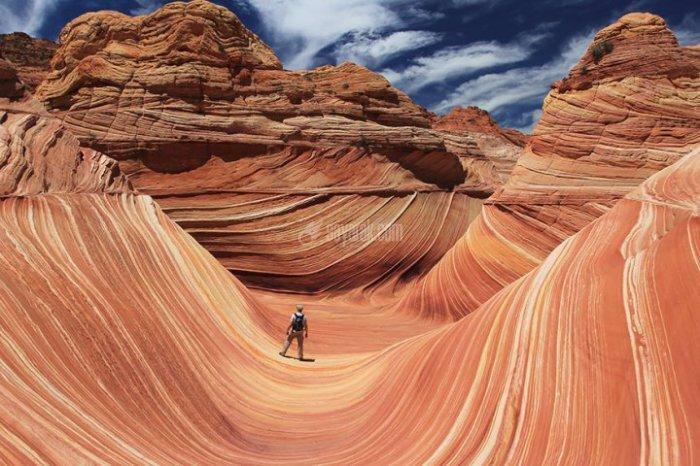 مکان افسانه ای بر روی زمین که مانند بوم نقاشی هستند+ تصاویر