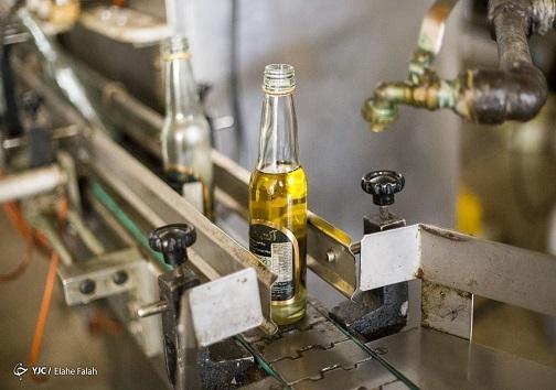 تولید روغن خوراکی در یک کارخانه