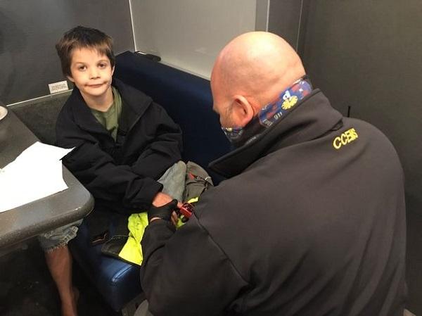 پسر ۹ ساله اوتیسمی سه روز در جنگل بدون کفش و ژاکت زنده ماند