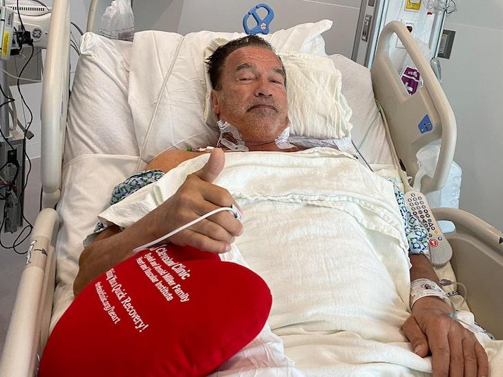 آرنولد دومین جراحی قلب خود را نیز انجام داد
