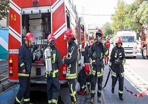انجام ۱۱ عملیات امداد و نجات با تلاش آتش نشانان همدانی