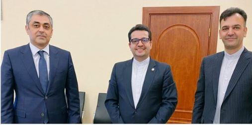 سفیر ایران در باکو با وزیر حمل و نقل و ارتباطات آذربایجان دیدار کرد
