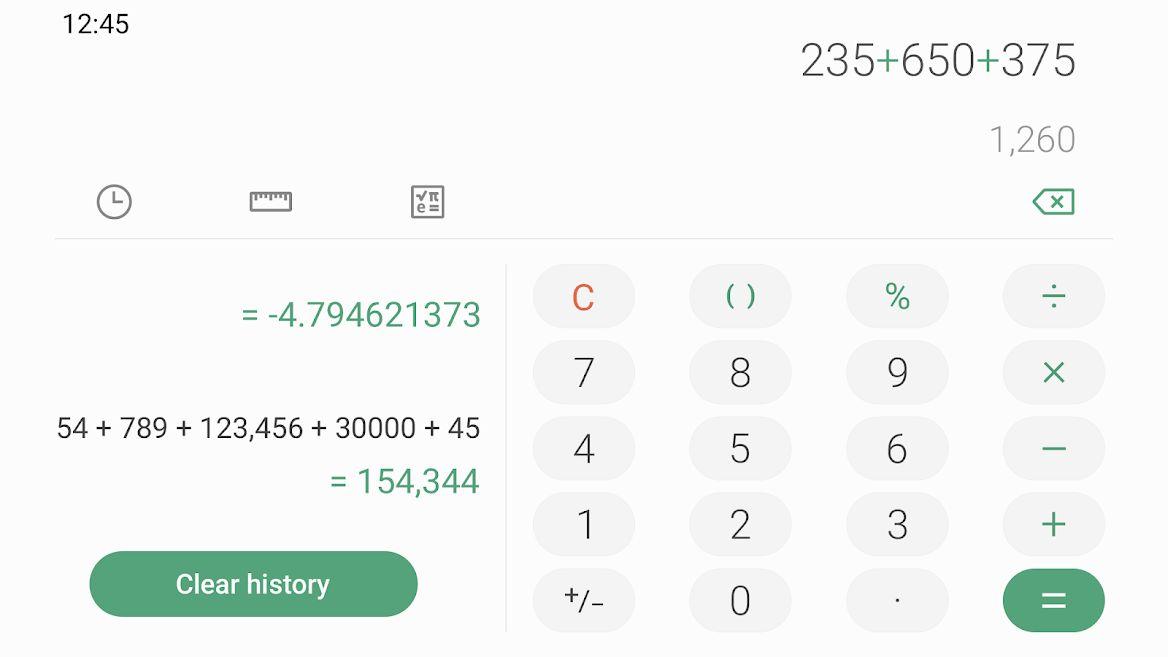 دانلود Samsung Calculator