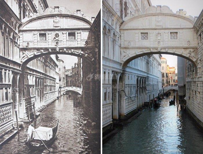 تغییرات شاهکارهای معماری جهات در طول ۱۰۰ سال+ تصاویر