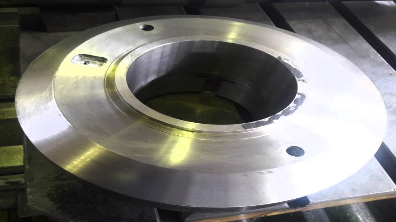ساخت دیسک بالانس متحرک پمپ توربو فیدپمپ در نیروگاه رامین اهواز