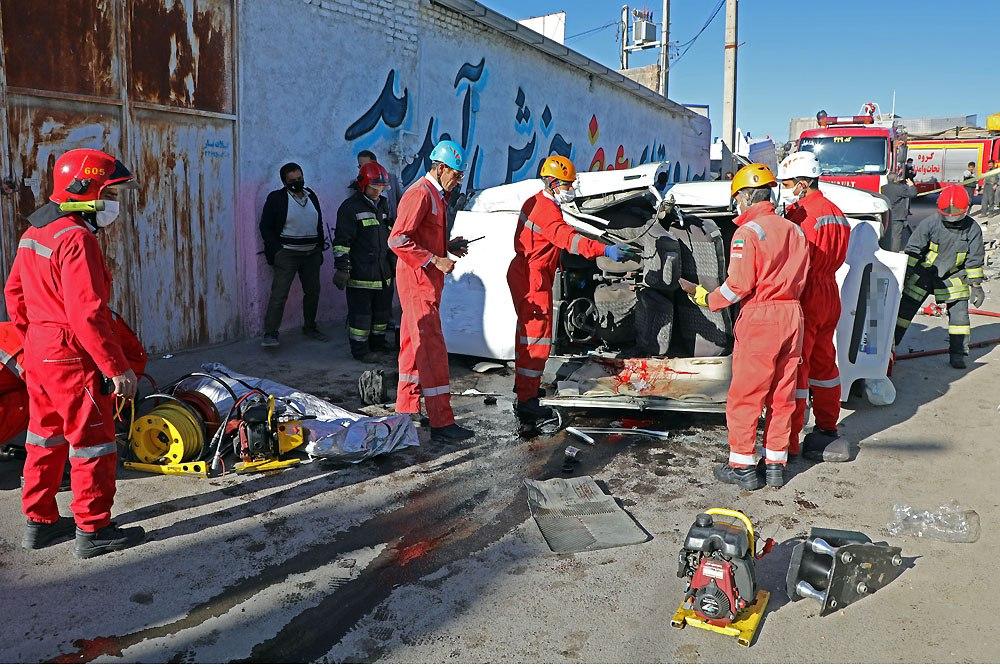 سانحه رانندگی در جاده مشهد به کلات