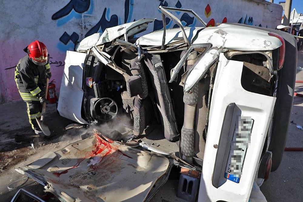 حادثه رانندگی در جاده مشهد به کلات