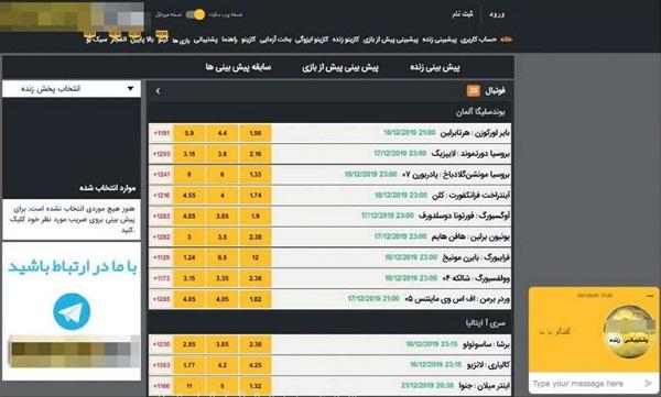 چگونگی فعالیت سایتهای شرطبندی با درگاههای ایرانی