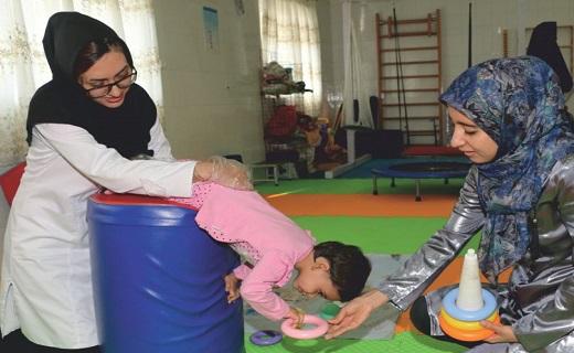کار درمانی کودک