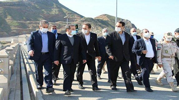 باشگاه خبرنگاران - بازدید معاون وزیر امور خارجه از مناطق مرزی خداآفرین