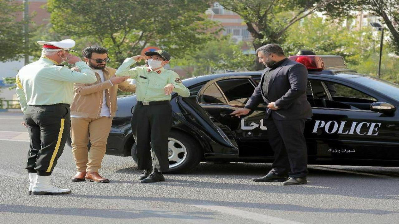 نوجوان کم توان ذهنی از رویای پلیس شدن به فرماندهی پلیس تهران رسید!