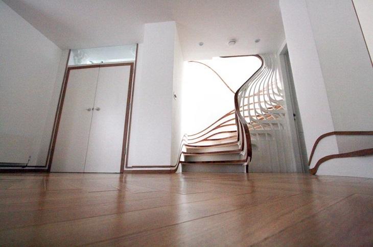خلاقانهترین طراحیها برای راهپله خانه