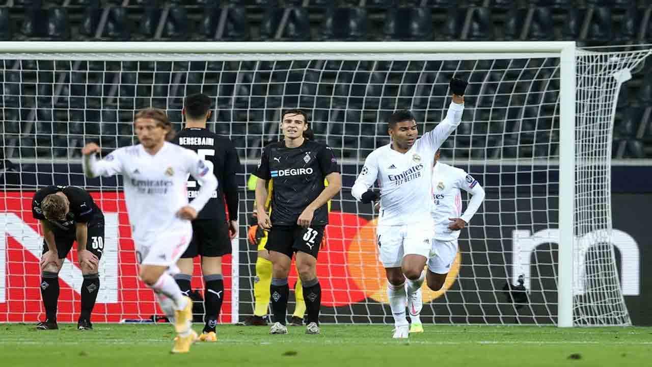 خلاصه بازی رئال مادرید و مونشن گلادباخ با گزارش عباس قانع
