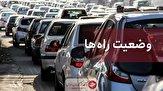 باشگاه خبرنگاران -ترافیک در آزادراه قزوین-کرج سنگین است