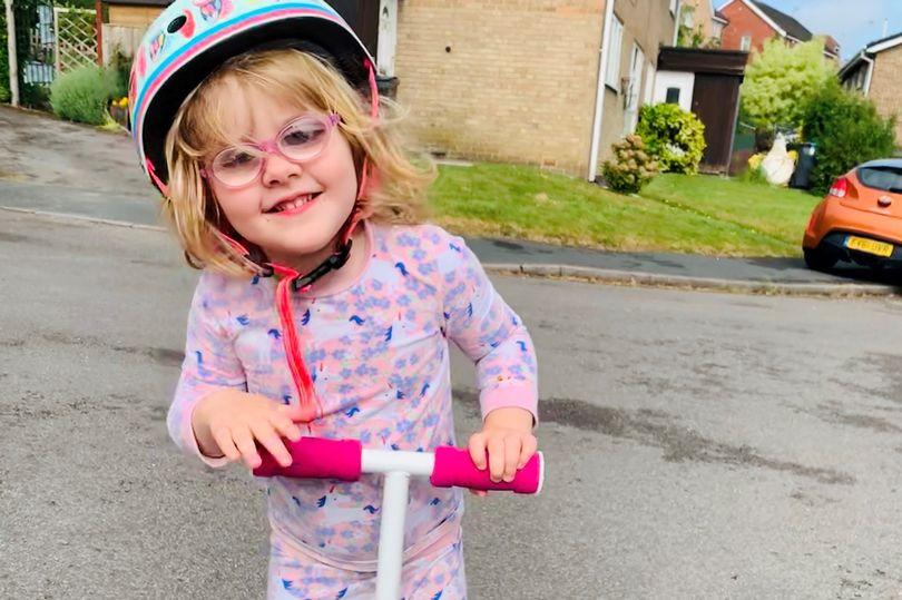 لحظه دلهره آور نابینایی کودک ۳ ساله