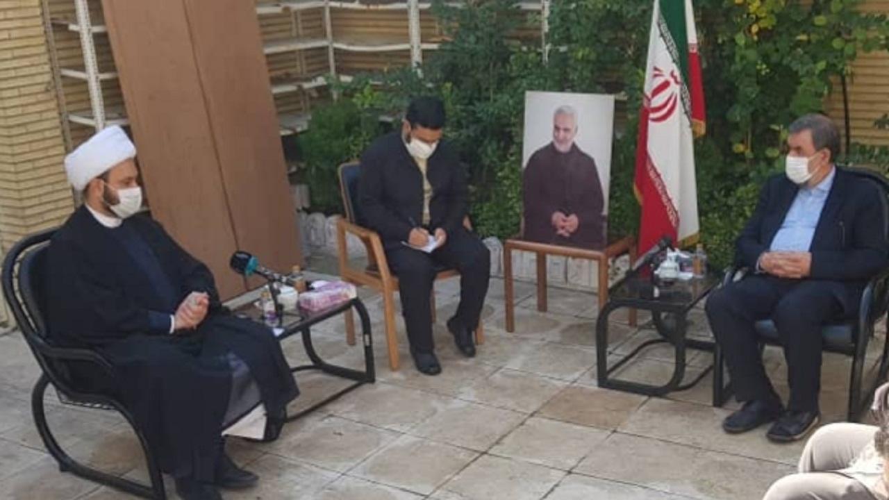 آمریکا شر مطلق است/ ایران از عراق مستقل، یکپارچه و مقتدر حمایت میکند
