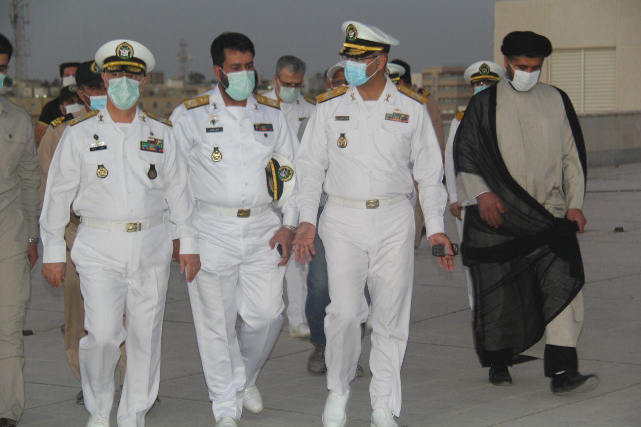 دریادار حسین خانزادی از منطقه سوم نیروی دریایی ارتش بازدید کرد