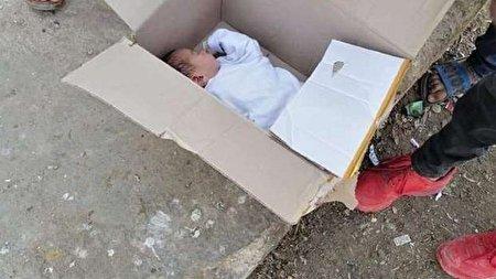 دختر بچهای که در سطل زباله پیدا شد!
